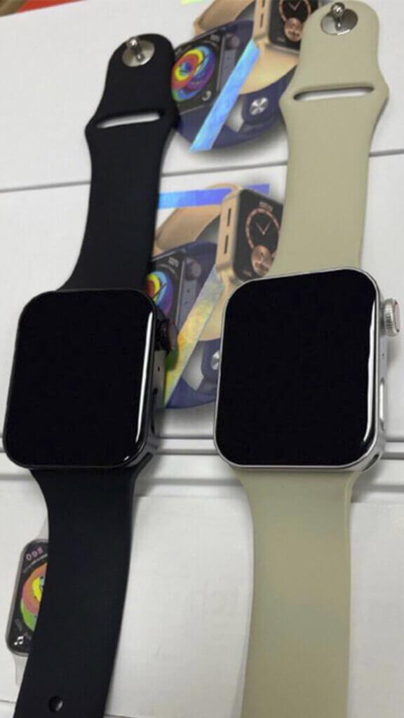 Клоны Apple Watch Series 7 появились в Китае...